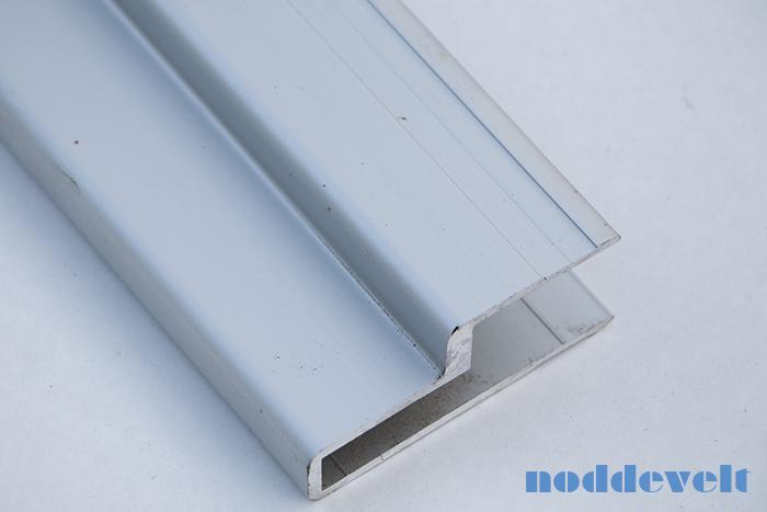 Aluminium deurprofiel