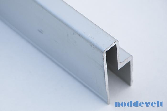 Aluminium deurprofiel 18mm