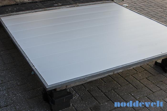 Aluminium profielen laadklep