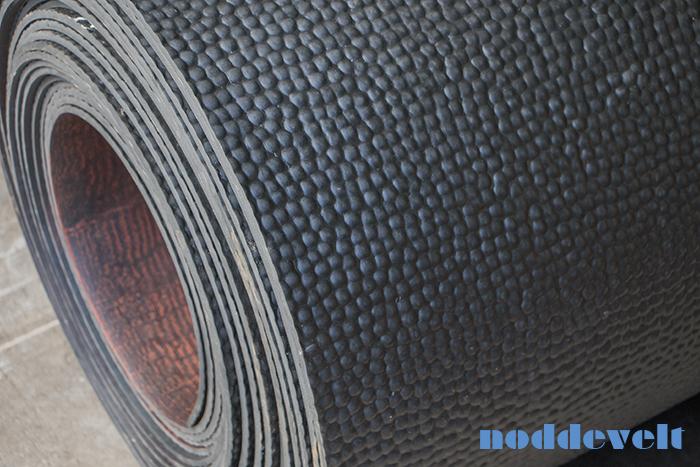 Rubber anti-slipmat paardenvrachtwagen / paardentrailer