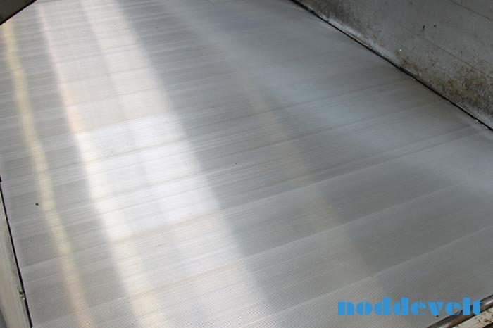 Aluminium trailervloer