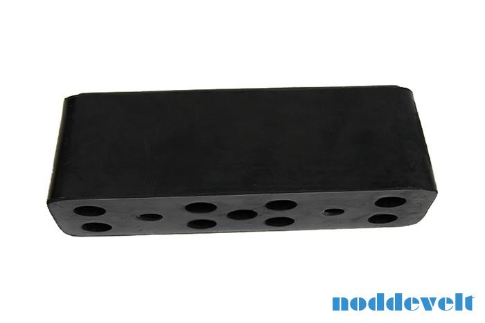 Stootblok van rubber voor uw vrachtwagen